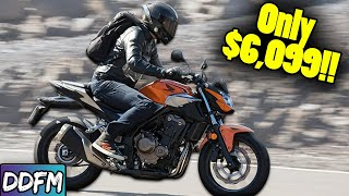 The 5 BEST Naĸed Motorcycles For Beginners 2020