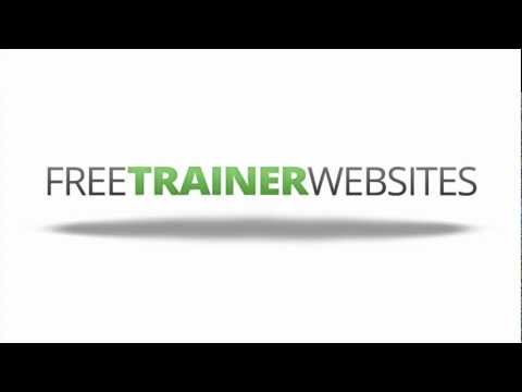 Free Personal Trainer Website Templates
