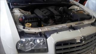 Chrysler 300 Battery Location and how to Jump start