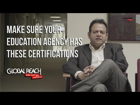 Studying Abroad - Make Sure Your Education Agency is Certified (2018)