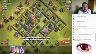 coc - clash of clans #51 - farmeando candyman87