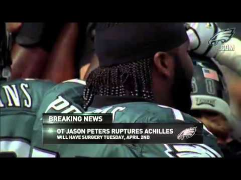 Eagles Update  Jason Peters Ruptures Achilles