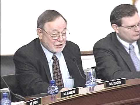 Congressman Young Speaking During a Subcommittee on National Parks Hearing (pt. 2)