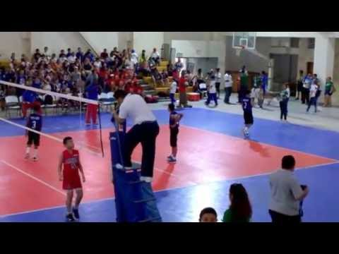 Codicader U13 Boys Volleyball Belize vs Panama 2016