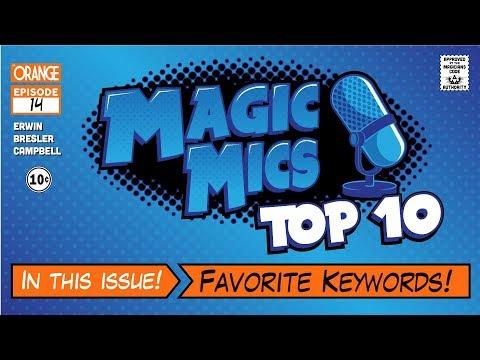 TOP TEN - Favorite Keywords!