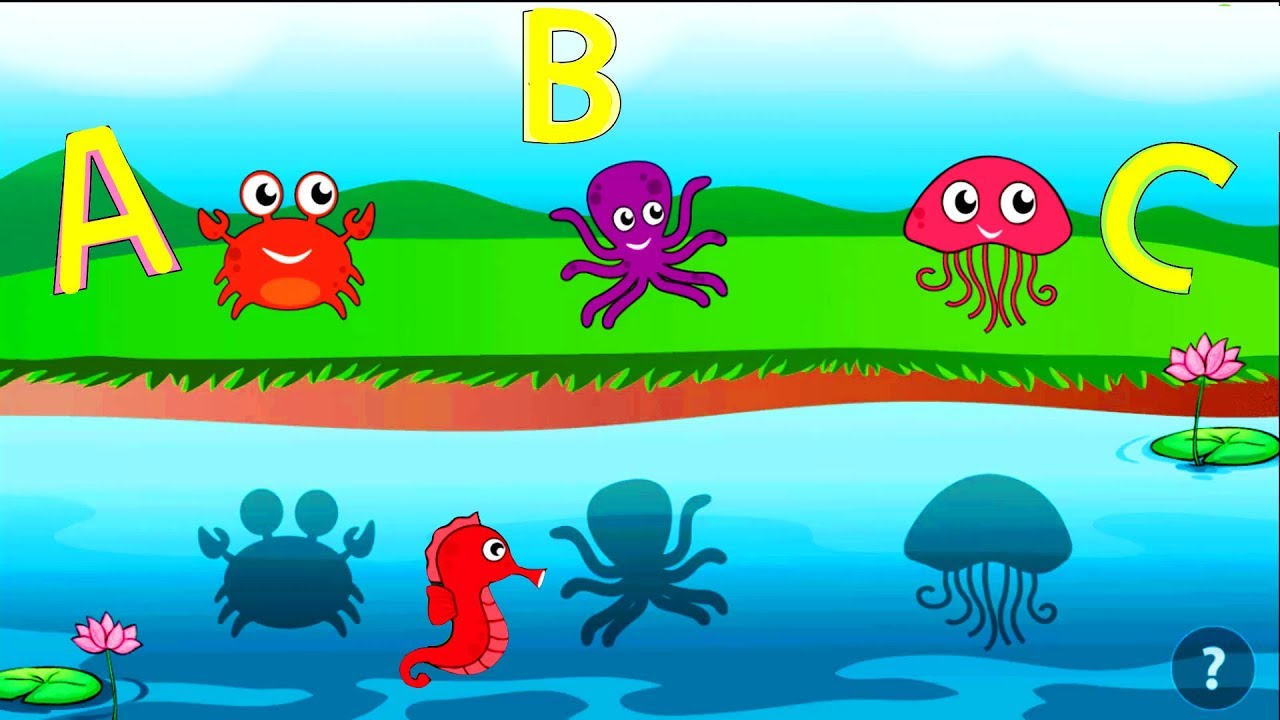Preschool Learning Games Kids - Learning Colors, shapes, Big and ...