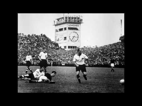 Original Fußball-Weltmeisterschaft´s Reportage 1954 in Bern