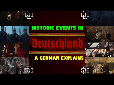 RAMMSTEIN - DEUTSCHLAND 🔥 In Depth History Review & Explanation Of The Video By A Native German!