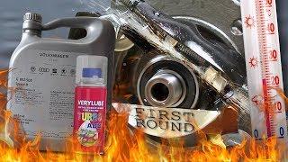 VW Special D 5W40 502.00 / 505.01 + Xado Turbo VeryLube Test tarcia 100°C