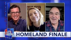 """""""Homeland"""" Stars Claire Danes and Mandy Patinkin Describe The Series Finale In One Word"""