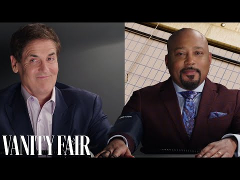 Mark Cuban and Daymond John Take a Lie Detector Test | Vanity Fair