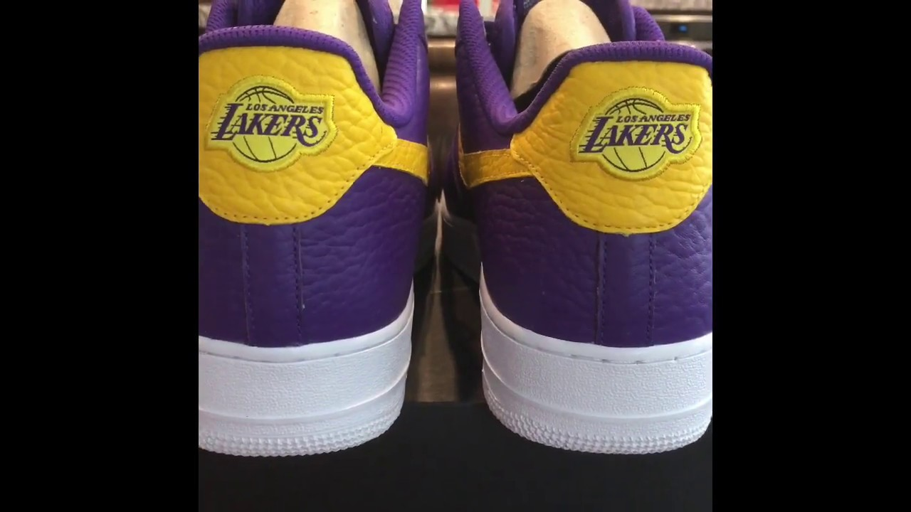 cheap price 100% top quality good service NIKEiD Laker Air force 1