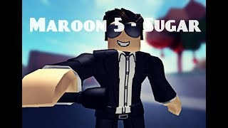 Maroon 5 - Sugar (ROBLOX MUSIC VIDEO)