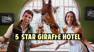 We stayed at the Giraffe Manor (Africa's Most Famous Hotel)