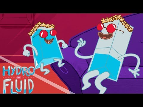 HYDRO and FLUID | New Years Eve Party | HD Full Episodes | Funny Cartoons for Children