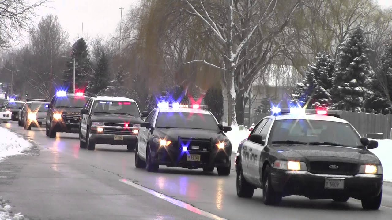 officer jennifer sebena funeral procession