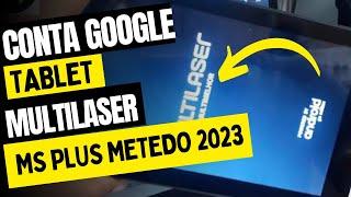 CONTA GOOGLE TABLET MULTILASER M7 S PLUS ANDROID 7.1  REVISÃO DE SEGURANÇA 5 DE JANEIRO 2019