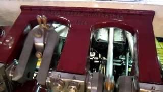 Работа двигателя корабля Savoie 1914