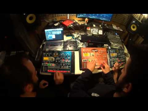 TKD Family Electribe Artists - JaM Improvvisation Techno Liveset ExperiMenT