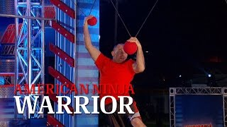 Dustin Rocho at the 2014 Venice City Finals | American Ninja Warrior