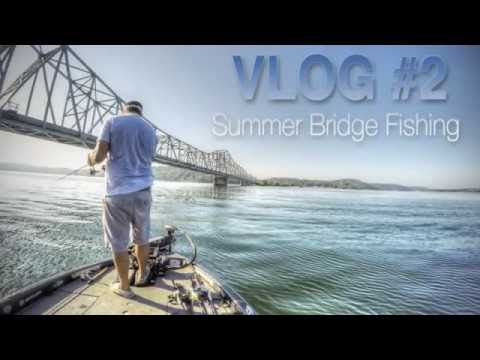 How To Fish Suspended Bass On Bridges