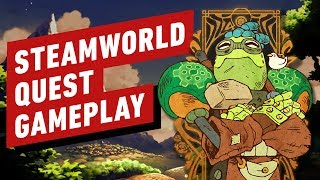 22 Minutes of SteamWorld Quest Gameplay