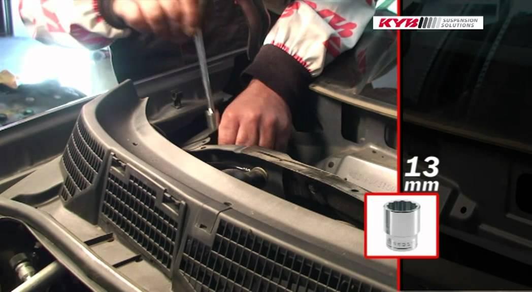Nissan Qashqai Ammortizzatori Anteriori Youtube