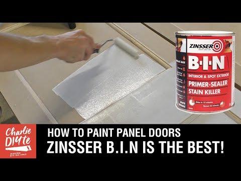 Why I LOVE Zinsser BIN for Priming MDF. Video 2/6
