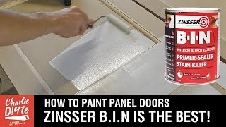 Why I LOVE Zinsser BIN for Priming MDF. Video 2/6