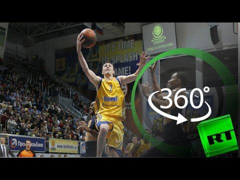 بتقنية 360 درجة.. تدريب فريق -خيمكي- الروسي لكرة السلة  - 17:21-2017 / 4 / 18