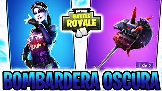 VICTORY WITH *NEW SKIN* DARK BOMBER! And *PICO ABSORBE ALMAS* - FORTNITE: Battle Royale