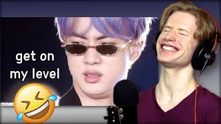 HONEST REACTION to bts moments that have comedians jobless #bts #reaction