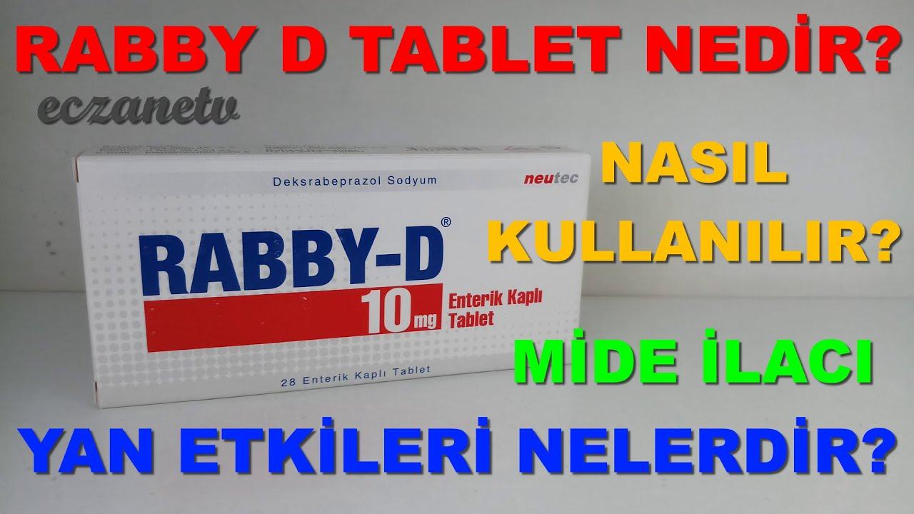 Download Rabby D Tablet Nedir? Rabby D Tablet'in Yan Etkileri Nelerdir? Rabby D Tablet Nasıl Kullanılır?