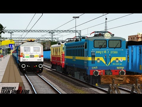 12791 secunderabad - danapur sf exp |msts openrails journey part1 |