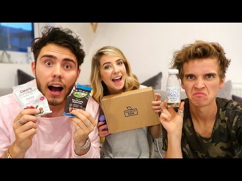 ZALFIE & JOE TRY HEALTHY SNACKS #6