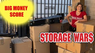 This $500 Abandoned Storage Unit Investments turned into a Jackpot Score Wars
