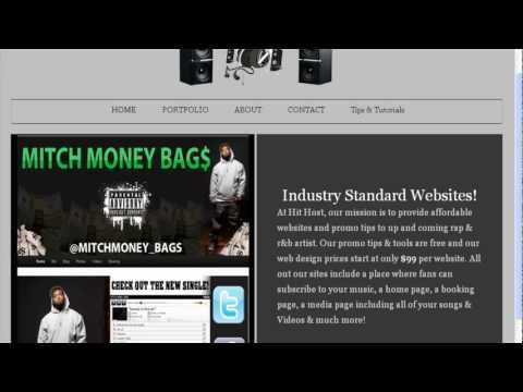 How To Build Artist/Producer Type Websites To Promote Music, Sell Music Or Sell Beats - Part 1