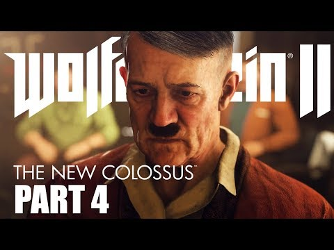 Next Stop, YOUR ASS! - Wolfenstein II: The New Colossus - Part 4