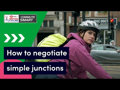 How to negotiate simple junctions when cycling | Commute Smart