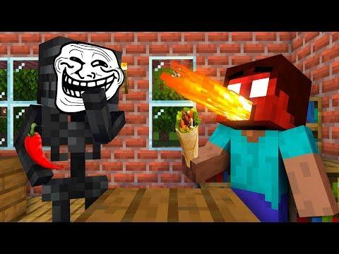 Monster School : COOKING CHALLENGE ALL EPISODES - Minecraft Animation