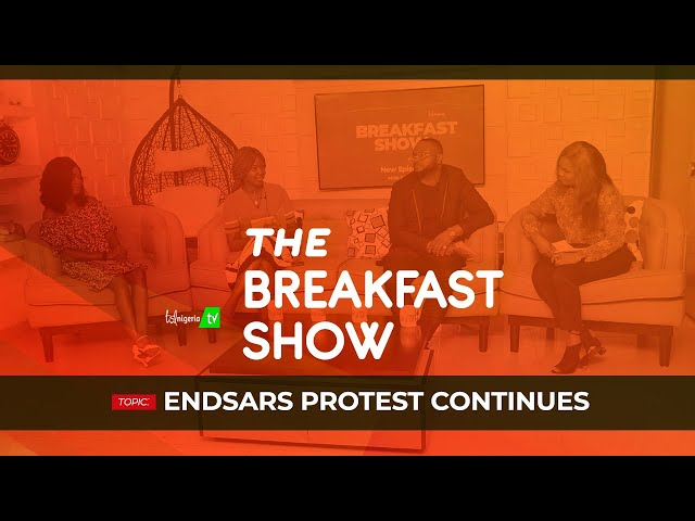 END SARS PROTEST CONTINUES