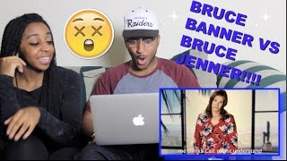 Couple Reacts : ERB Bruce Banner vs Bruce Jenner Reaction!!!