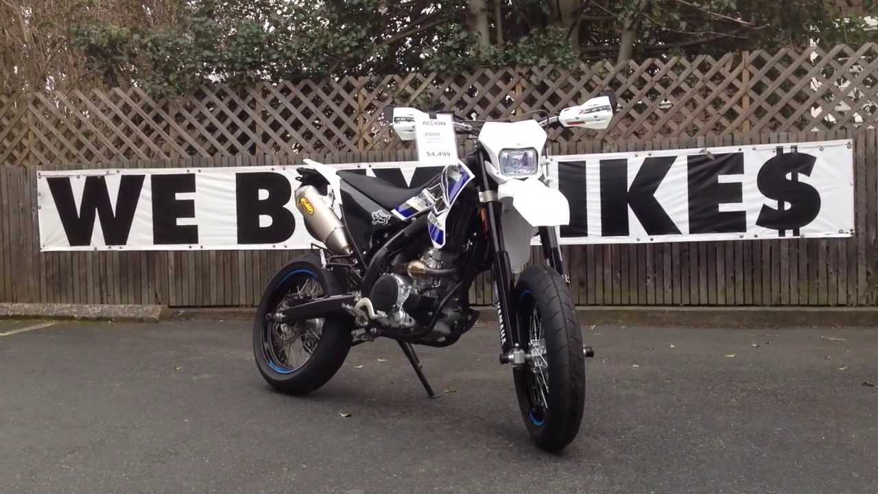 2008 Yamaha WR250X - SOLD!