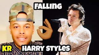 Harry Styles - Falling (Live From The BRIT Awards, London 2020) REACTION