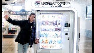 A Pokemon Center Vending Machine