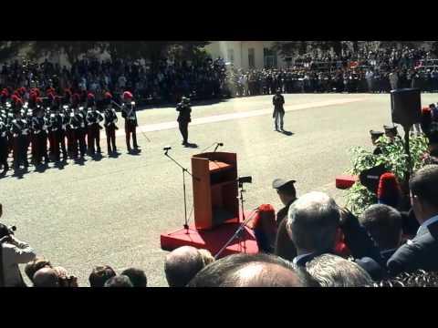 Giuramento allievi carabinieri Iglesias 15/04/2016 compagnia d