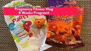 Pregnancy Fitness Blog:  8 Weeks Pregnant