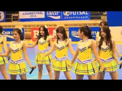 [FANCAM] JKT48 - Gingham Check Team KIII (Final Futsal Pocarisweat)