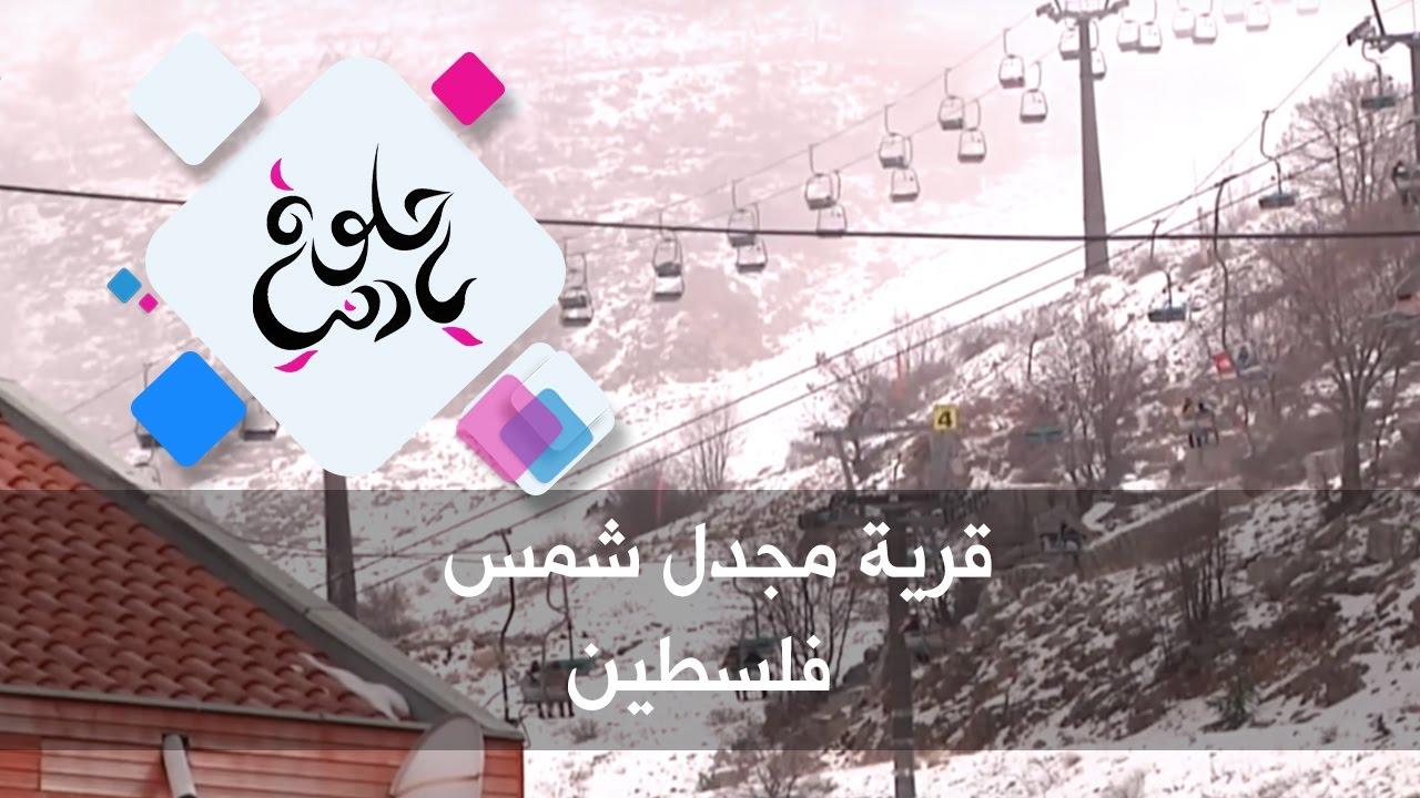 قرية مجدل شمس - فلسطين - حلوة يا دنيا