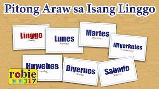 Pitong Araw Sa Isang Linggo Animated (Days of a Week Song)